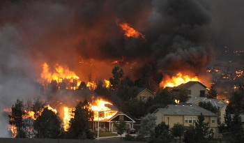 Waldo Canyon Fire Colorado Springs