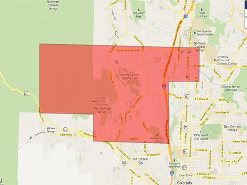 West Colorado Springs Neighborhood