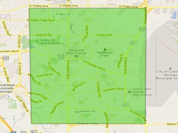 Southeast Colorado Springs Real Estate and Homes For Sale