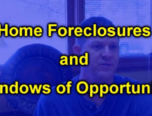 Home Foreclosures and Windows of Opportunity