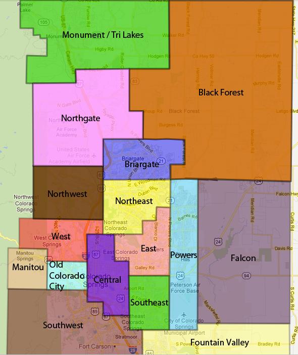 Colorado Springs And: Colorado Springs Real Estate Listings