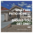 What Are Patio Homes